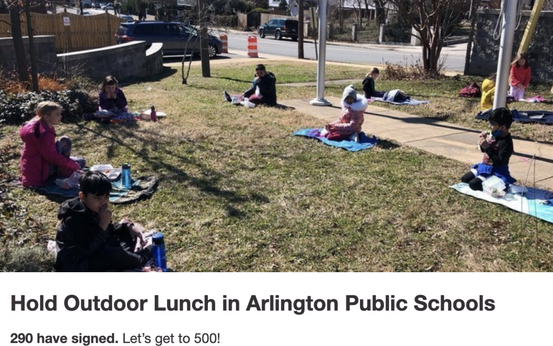 In the News! Outdoor Lunch Petition Launched